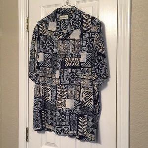 Caribbean tropical shirt